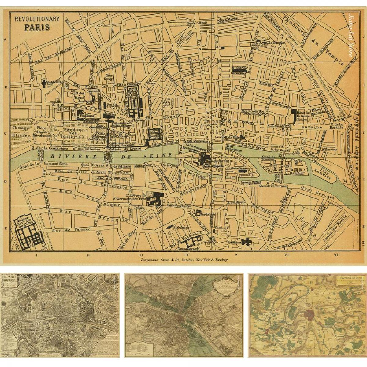 early Paris map
