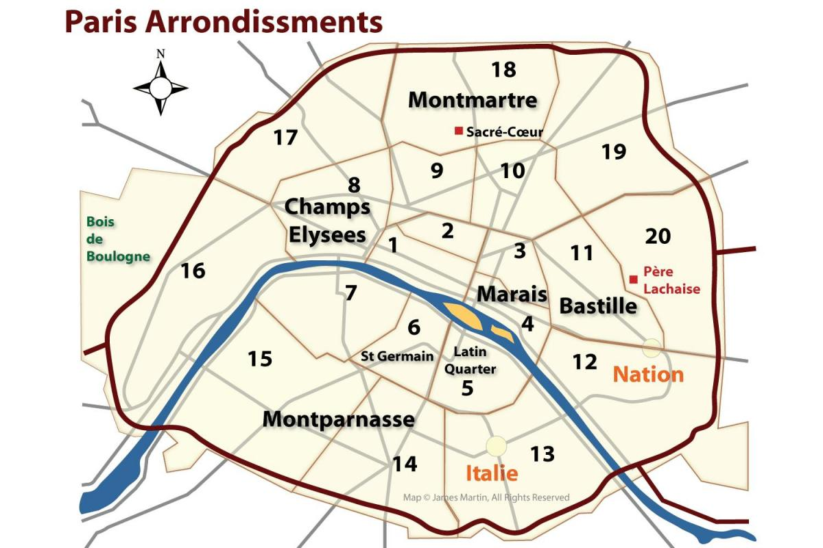 marais neighborhood map