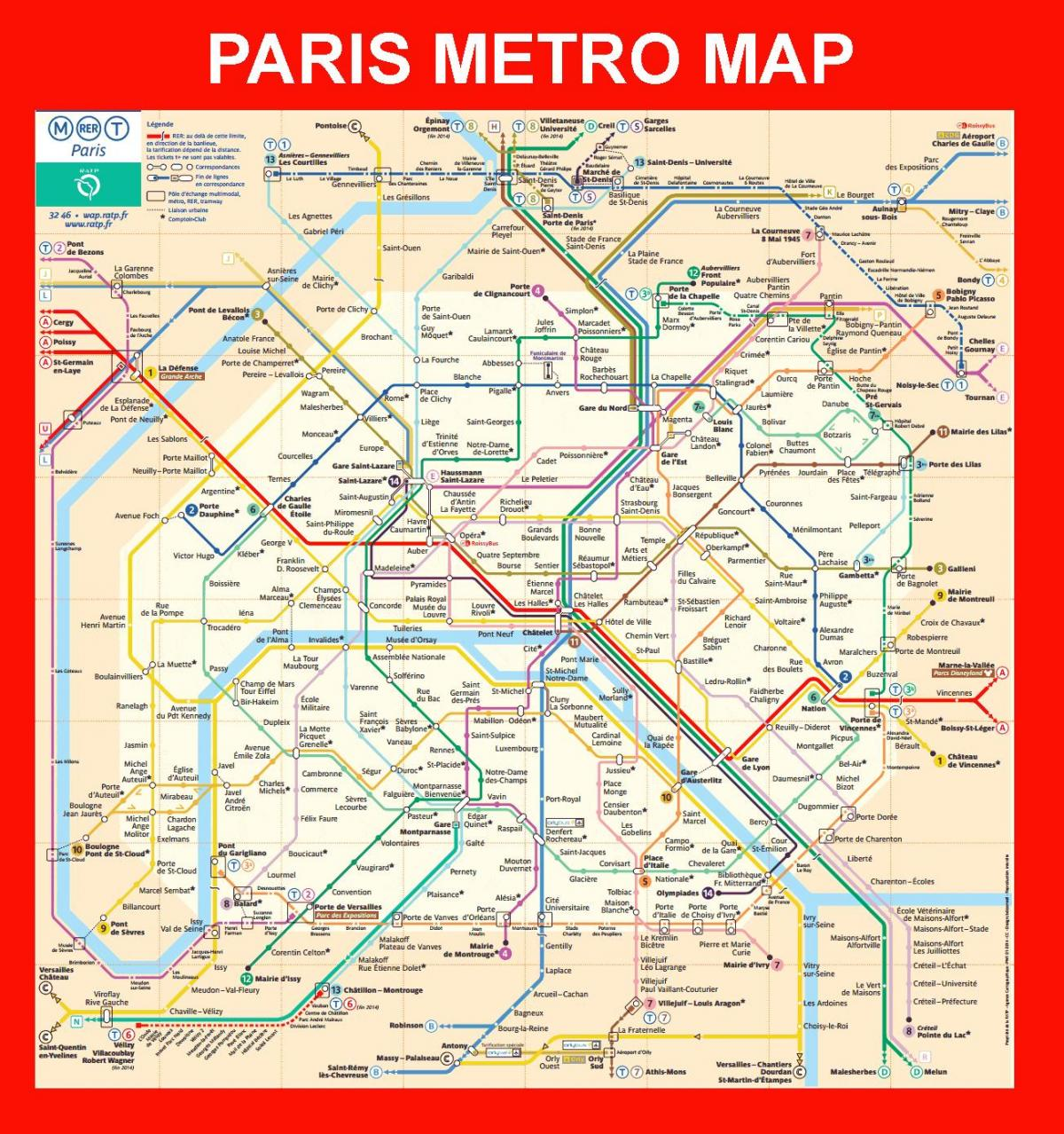 french underground map