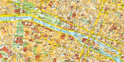 Map of Paris directions