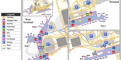 Paris orly airport map