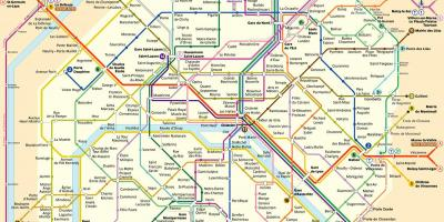 Paris ratp map